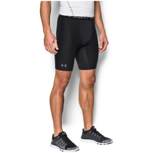 Under Armour Heat Gear 2.0 Long Compression Shorts - Black