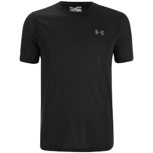 Under Armour Men's Threadborne Fitted T-Shirt - Black