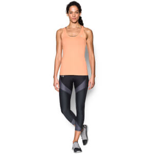 Under Armour Women's HeatGear Armour Racer Tank - Playful Peach