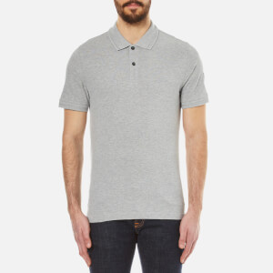 Belstaff Men's Granard Short Sleeve Polo Shirt - Grey Melange