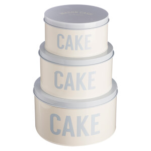 Mason Cash Bakewell Cake Tins - Cream (Set of 3)