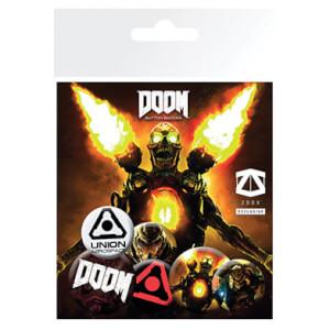 Doom Badge Pack