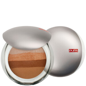 PUPA Luminys Baked All Over Illuminating Blush Powder - Red Gold