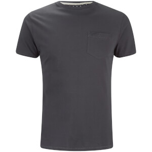 T-Shirt Homme Jack Poche et Col Rond Threadbare -Charbon