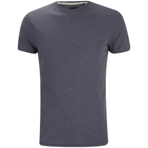 Threadbare Men's William Crew Neck T-Shirt - Navy Marl