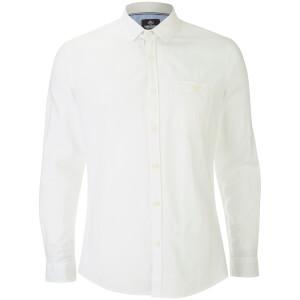 Threadbare Men's Butterbean Long Sleeve Shirt - White