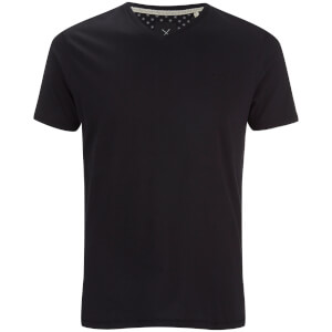 Threadbare Men's Charlie V-Neck T-Shirt - Black
