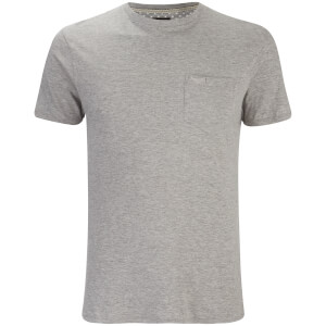 Threadbare Men's Jack Crew Neck Pocket T-Shirt - Grey Marl