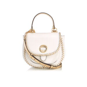 MICHAEL MICHAEL KORS Women's Isadore Medium Pebble Leather Messenger - Optic White
