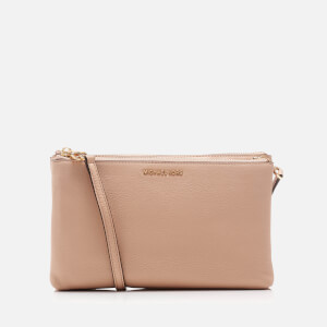 MICHAEL MICHAEL KORS Women's Adele Double Gusset Cross Body Bag - Oyster