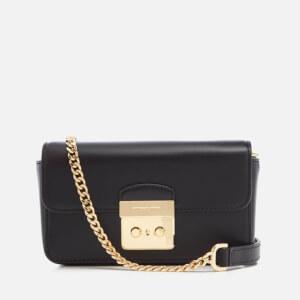 MICHAEL MICHAEL KORS Women's Sloane Editor Wallet on a Chain Bag - Black