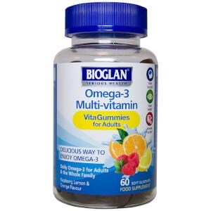 Bioglan Adult Vita Omega 3 Gummies - 60 Gummies