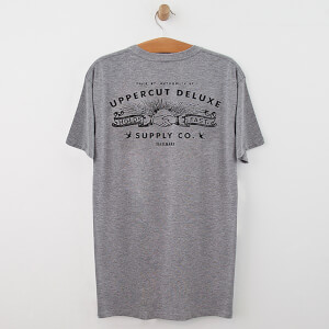 Uppercut Union T-Shirt - Grey/Black Print
