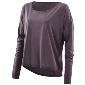 Skins Plus Women's Pixel Long Sleeve Top - Haze/Marle