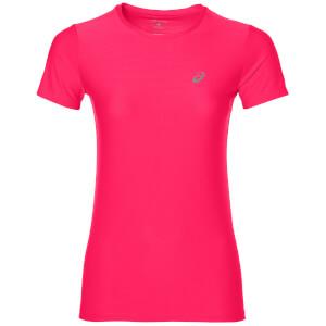 Asics Women's Run T-Shirt - Diva Pink