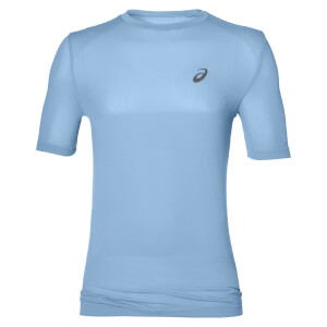 Asics Men's FuzeX Seamless Run T-Shirt - Powder Blue
