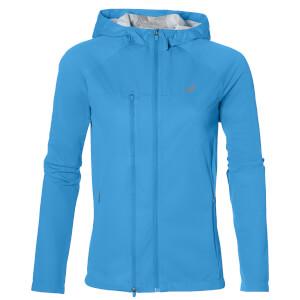 Asics Women's Accelerate Run Jacket - Diva Blue