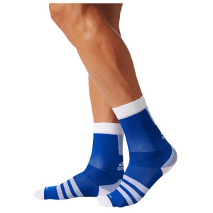 adidas Men's Infinity 13 Cycling Socks - Blue