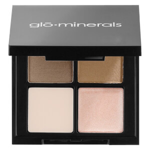 glo minerals Brow Quad - Taupe
