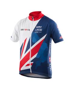 Kalas Kids' Team GB Replica Short Sleeve Jersey