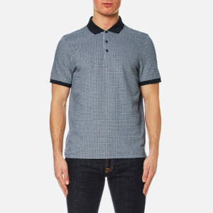Michael Kors Men's Grid Birdseye Polo Shirt - Midnight