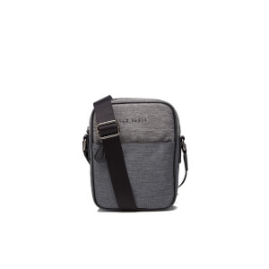 Ted Baker Men's Manowar Nylon Flight Bag - Charcoal