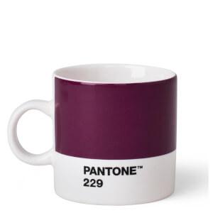Pantone Espresso Cup - Aubergine 229