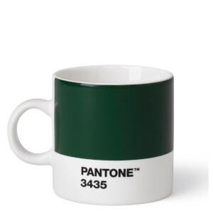 Pantone Espresso Cup - Dark Green 3435