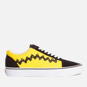 Vans X Peanuts Men's Old Skool Trainers - Charlie Brown/Black