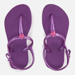 Havaianas Kids' Freedom Flip Flops - Royal Purple