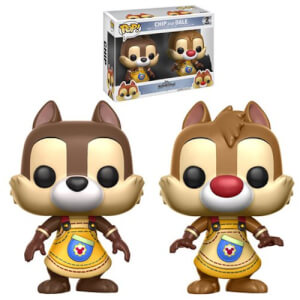 Kingdom Hearts Chip and Dale Pop! Vinyl Figure 2-Pack