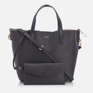DKNY Women's Bryant Park Bucket Bag - Black