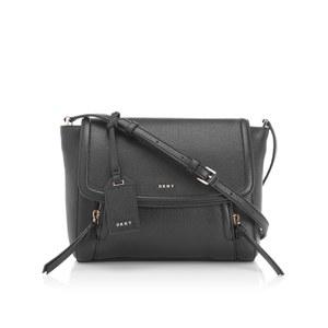 DKNY Women's Chelsea Vintage Small Messenger Bag - Black