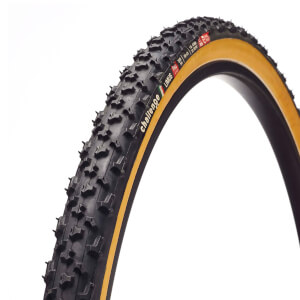 Challenge Baby Limus Tubular Cyclocross Tyre - Black/Tan - 700c x 33mm