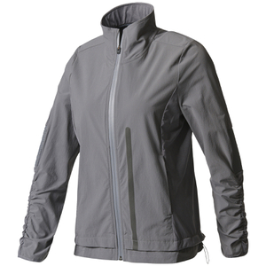 adidas Women's Ultra Energy Running Jacket - Granite