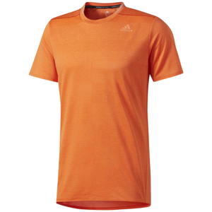 adidas Men's Supernova Running T-Shirt - Energy Orange