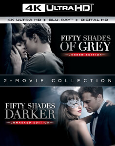 Fifty Shades Darker + Fifty Shades of Grey - 4K Ultra HD - Double Pack (Includes Digital Download)