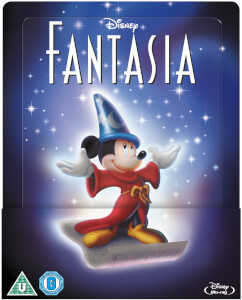 Fantasia - Zavvi Exclusive Lenticular Edition Steelbook