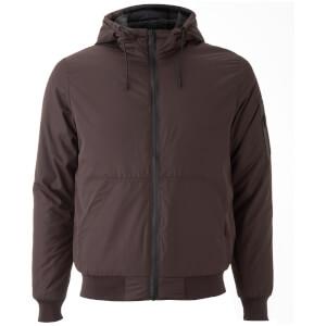 Brave Soul Men's Plutonium Hooded Jacket - Burgundy