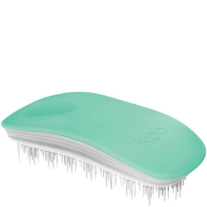 ikoo Home Hair Brush - White - Ocean Breeze
