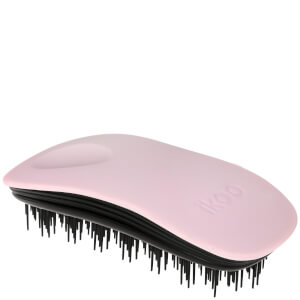 ikoo Home Hair Brush - Black - Cotton Candy