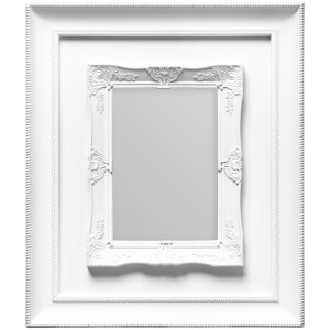 Rococo Photo Frame 5 x 7 - White from I Want One Of Those