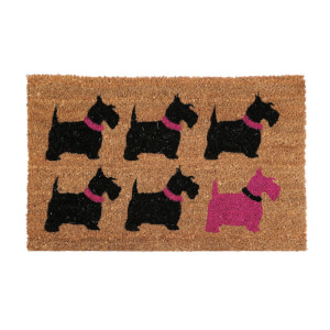 Scottie Dog Doormat from I Want One Of Those