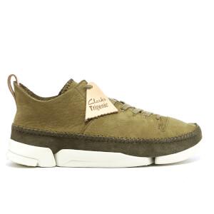Clarks Originals Men's Trigenic Flex Shoes - Forest Green Nubuck