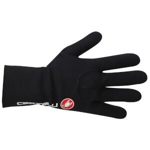 Castelli Diluvio Light Gloves - Black/Red