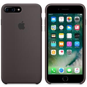 Étui en Silicone pour iPhone 7 Plus -Cacao
