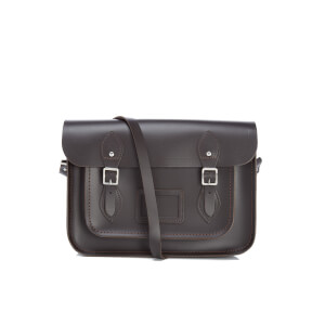 The Cambridge Satchel Company Women's 13 Inch Classic Satchel - Dark Brown