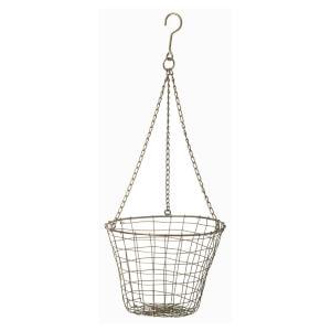 Parlane Fleur Metal Hanging Basket - Bronze (16 x 19cm)
