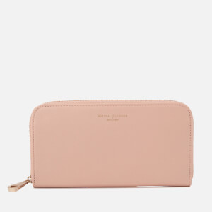Aspinal of London Women's Continental Clutch Wallet - Peach Gold