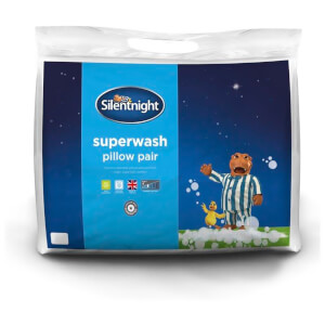 Silentnight Superwash Pillow - 2 Pack
